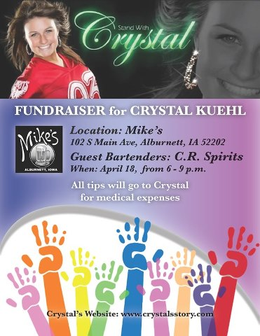 Crystal's 1st Benefit!
