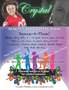 Fundraiser for Crystal