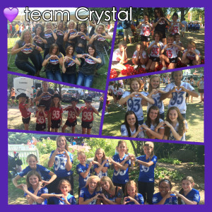 The CR Spirits Dancing their Heart Out for Crystal!