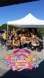 A little Iowa Tailgating!