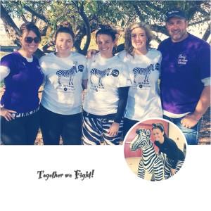 Our family Zebra Girl!