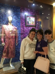 Dinner at Hard Rock & we get to see Prince's Coat...Very Touching...