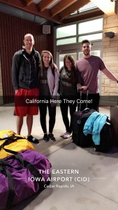 Crystal & Gage with their good friends getting ready for the two week adventure!